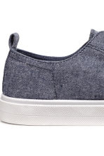 Twill trainers - Blue melange - Ladies | H&M CA 4
